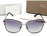 Женские черные солнцезащитные очки (0215), фото 1