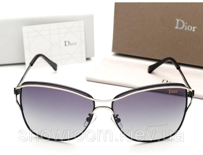 Женские черные солнцезащитные очки (0215)