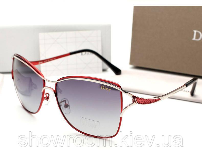 Женские красные солнцезащитные очки (0215)