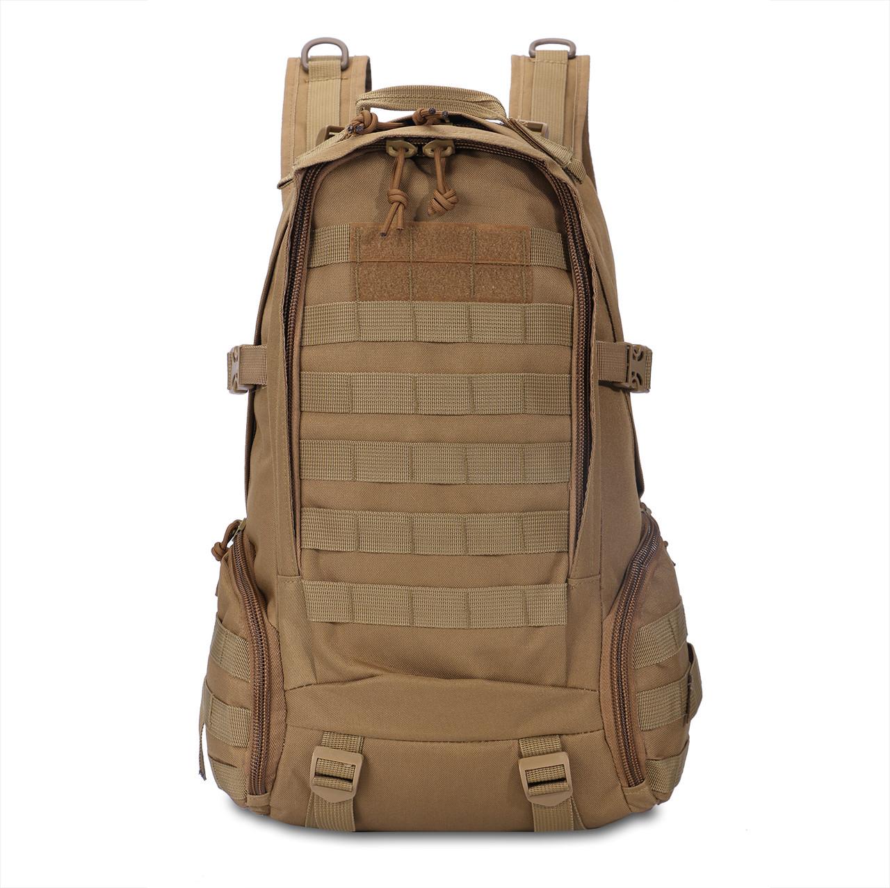 Тактичний рюкзак 27 л. D-800. Койот