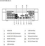 Регистратор видео 4-канальный Penta-brid 4K XVR видеорегистратор XVR7104E-4KL-X, фото 2