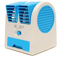 Мини кондиционер Conditioning Air Cooler USB Electric Mini, работает от компьютера