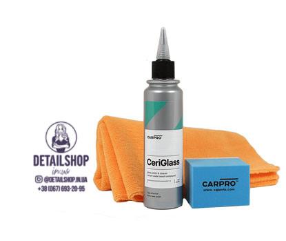 CarPro  Ceri Glass (Кэри Глэс) 150 ml - полировальная паста и очиститель для стекол