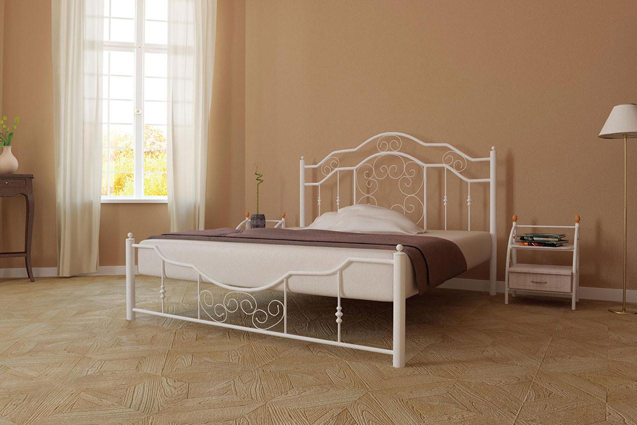 Кровать Металл-Дизайн Кармен Белый