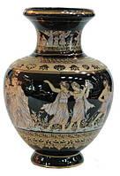 Ваза -амфора греческая,керамика ,30 см.Про- ство Греция.
