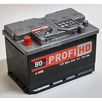 АВТОМОБИЛЬНЫЙ АККУМУЛЯТОР SADA PROFI HD 6СТ-80 (+/-) САДА ПРОФИ 12В 80АЧ 800А