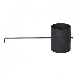 Шибер димохідний з довгою ручкою 200 мм.