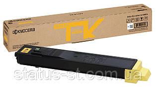 Заправка Kyocera TK-8115Y для принтера Kyocera  ECOSYS M8124, M8130idn