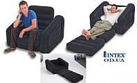 Надувное раскладное кресло 68565 Intex (109х218х66см)