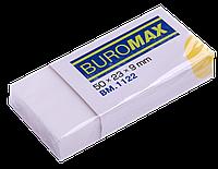 Ластик BUROMAX прямоугольный в бум. держателе BM.1122