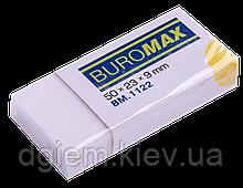 Ластик BUROMAX прямокутний в бум. тримач BM.1122