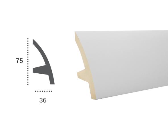 LED профили Tesori KF 502 ,лепной декор из полиуретана.