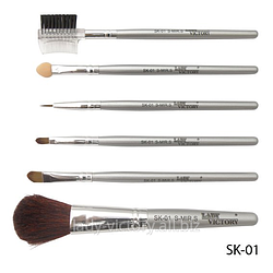 Набір кистей для макіяжу. SK-01