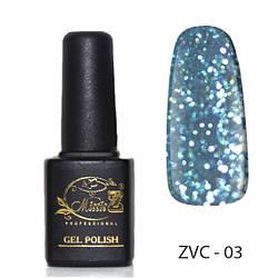Гель-лак «Хамелеон» ZVC-(01-06)