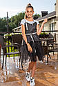 Модный стильный школьный костюм тройка для девочки Размеры 122- 146, фото 9