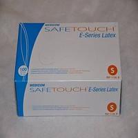 Перчатки латексные опудренные размер S, MEDICOM SAFE TOUCH (Медиком Сейф Тач) 100 шт. L Белый