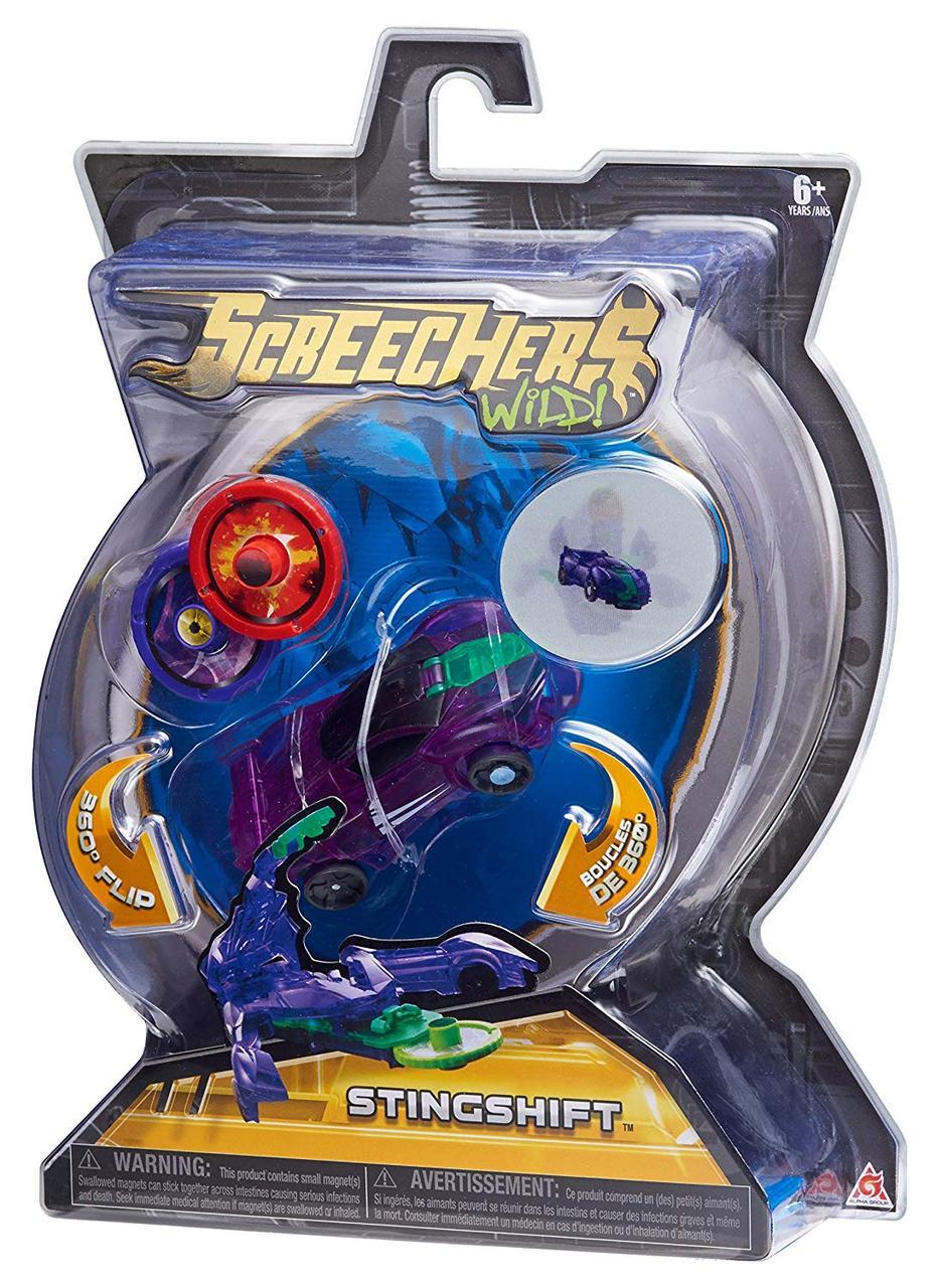 "Screechers Wild L1 Стінгшифт Машинка-трансформер (скричер - Дикие Скричеры ""Стингшифт"", StingShift )"