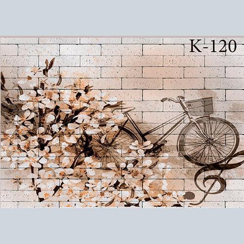 """Интерьерная деколь """"Весенний велосипед"""""""