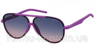 Солнцезащитные очки Polaroid Очки женские с поляризационными ультралегкими градуированными линзами POLAROID (ПОЛАРОИД) P6017S-TIZ60Q2