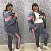 Велюровый спортивный костюм женский (норма, батал)
