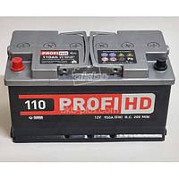 АВТОМОБИЛЬНЫЙ АККУМУЛЯТОР SADA PROFI HD 6СТ-110 (+/-) САДА ПРОФИ 12В 110АЧ 950А