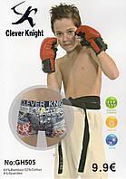 Детские подростковые боксеры хлопок с бамбуком Clever Knight, 6-15 лет, 505