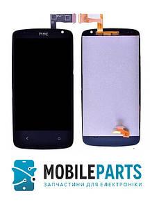 Дисплей для HTC Desire 500 | 506e с сенсорным стеклом (Черный) Оригинал Китай