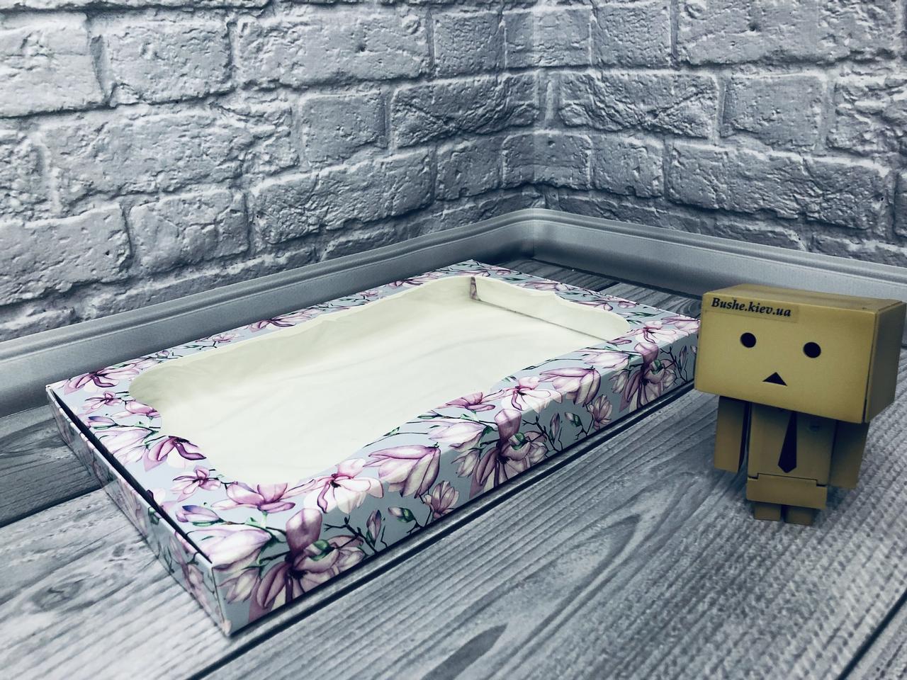 *10 шт* / Коробка для пряников / 300х200х30 мм / печать-Магнолия / окно-обычн / лк / цв