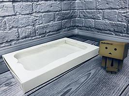 *10 шт* / Коробка для пряников / 300х200х30 мм / Белая / окно-обычн