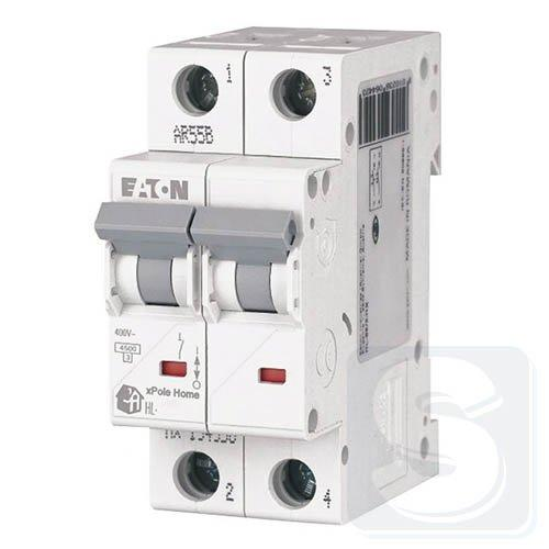 Автоматичний вимикач HL 2p 63A,C  EATON