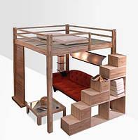 Двухьярусная кровать в стиле LOFT (NS-970001266)