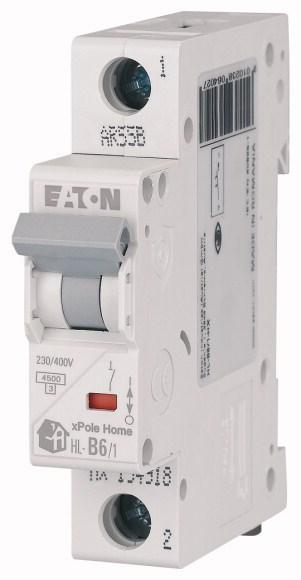 Автоматичний вимикач HL 1p 63A,C  EATON