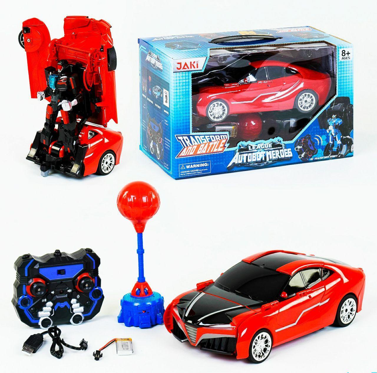 Машина-трансформер - боксер робот на радиоуправление, автобот