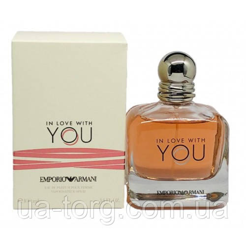 Женская парфюмированная вода Giorgio Armani In Love With You