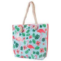 Пляжная сумка ETERNO Женская пляжная тканевая сумка ETERNO (ЭТЕРНО) ETA29355-7, фото 1
