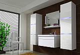 Набір меблів для ванної кімнати LUMIA з умивальником 80см, фото 2