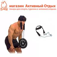 Тренажер для тренировки, прокачки шеи, упряжь шлем для накачки шеи