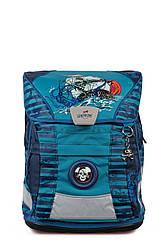 Ранец ортопедический с наполнением 5 предметов DerDieDas Ergoflex Vario Blue Octopus 8407067