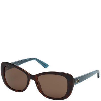 Солнцезащитные очки Guess Очки женские солнцезащитные GUESS (ГЕС) PGU7475-52E56