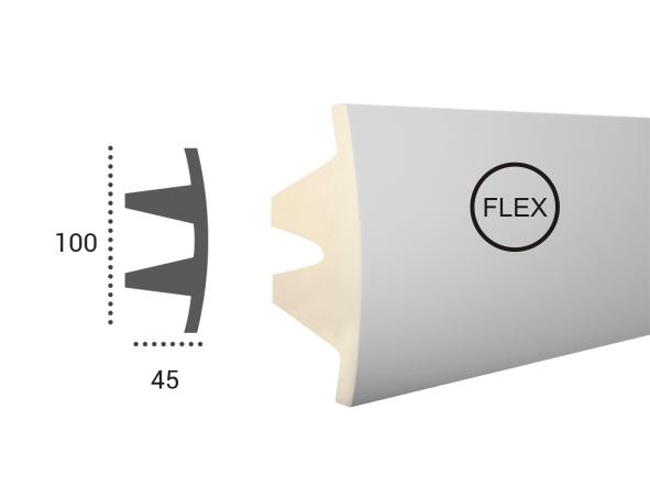 LED профили Tesori KF 503 Flexi,лепной декор из полиуретана.