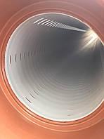 Гофрированная дренажная (перфорированная) труба ПП SN8 Ø200 6м градус перфорации 220