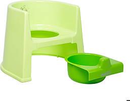 Детский горшок Evenflo® Potty - зеленый (6910806228093)