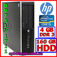 Компютер ПК HP 6300 Intel core i3-3220 2x3.3 4Gb Ram 160Gb HDD DVD W10 вживаний робочий