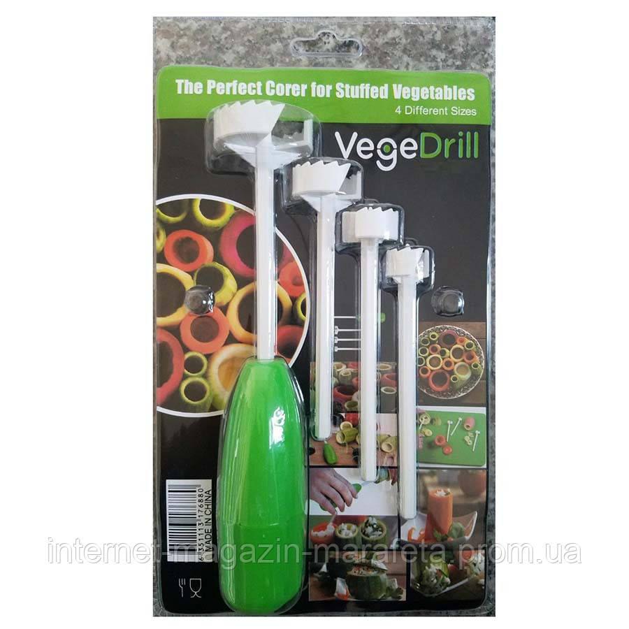 Инструмент для фаршировки овощей - Vege Drill