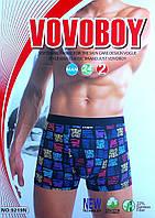 Трусы мужские боксеры Vovoboy хлопок + бамбук ТМБ-18107