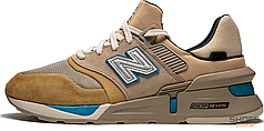 Мужские кроссовки New Balance 997S Kith Nonnativ Tan Beige MS997TH, Нью беланс 997