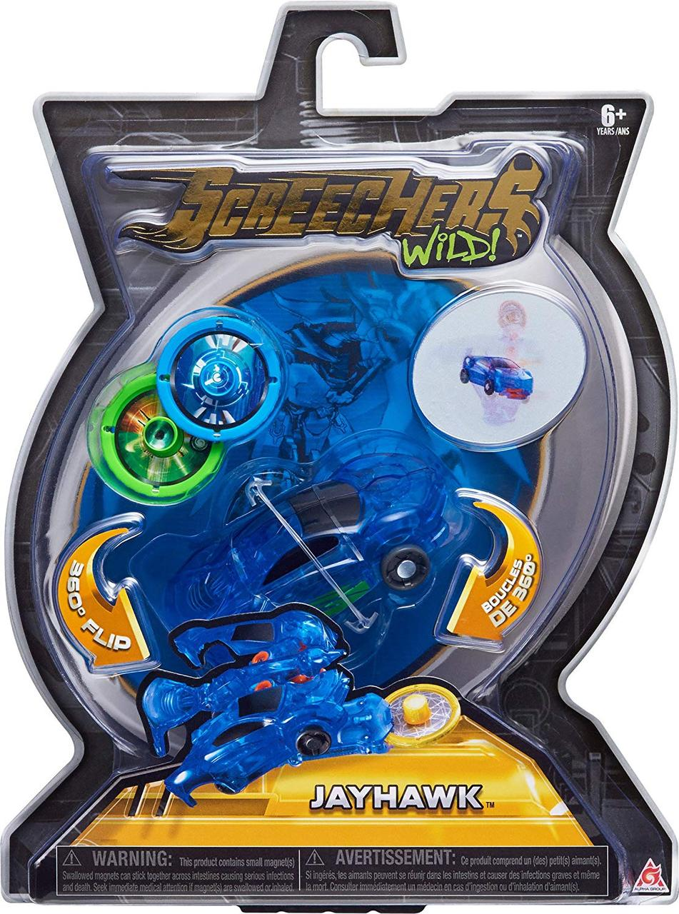 "Screechers Wild L1 Джейхокт Машинка-трансформер (скричер - Дикие Скричеры ""Джейхокт"",  Jayhawk )"