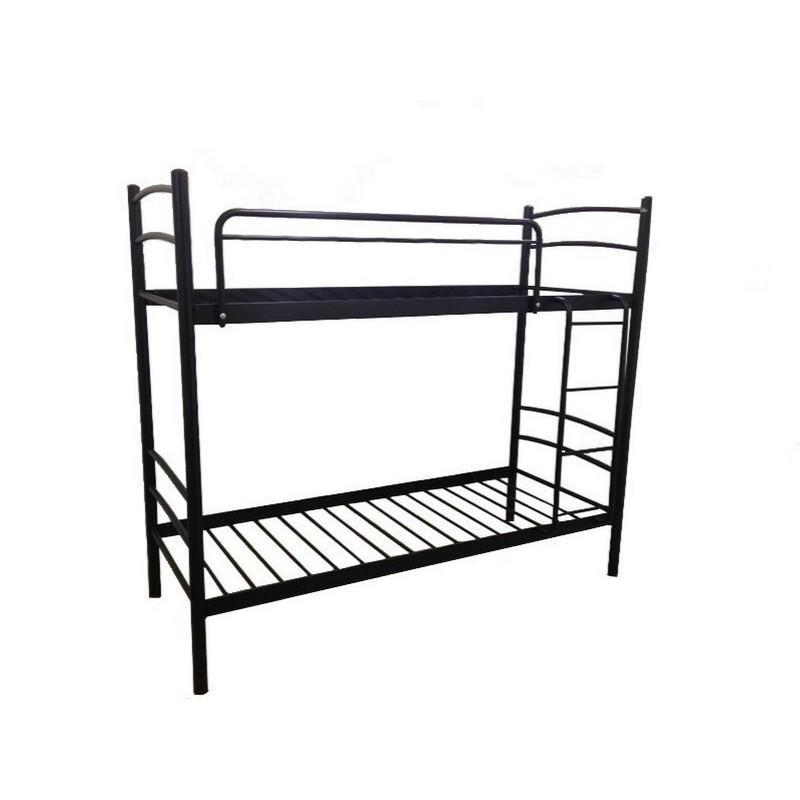 Двухъярусная кровать Металл-Дизайн Маргарита Черный