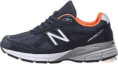 Женские кроссовки New Balance W990NV4 Made in USA Navy, Нью беланс 990