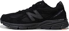 Мужские кроссовки New Balance M990BB4 Black, Нью беланс 990